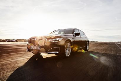 BMW introduces its new plug-in hybrid for the BMW 7-Series
