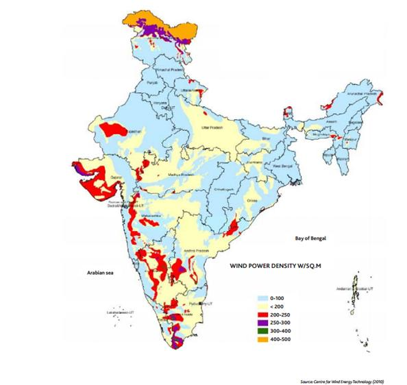 Map of Solar Power Plants in India Hybrid Solar Power Plant