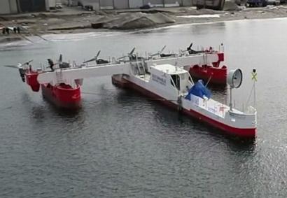 Sustainable Marine Unveils Floating Tidal Energy Platform
