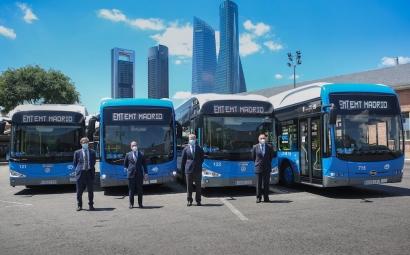 Iberdrola electrificará la red de autobuses urbanos de Madrid