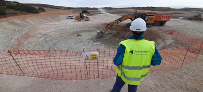 El Campo de Belchite contará con un nuevo parque eólico de la mano de Forestalia