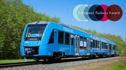 """El tren de hidrógeno de Alstom recibe el premio """"European Railway Award 2021"""""""