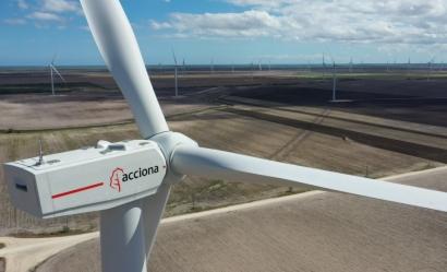 Acciona supera el listón de los mil megavatios eólicos en su conquista del Norte de América
