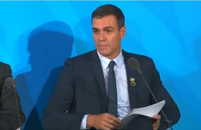 Sánchez anuncia en Nueva York que España destinará 150 millones de euros al Fondo Verde del Clima