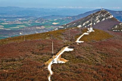 El nuevo atlas eólico europeo empieza por Navarra