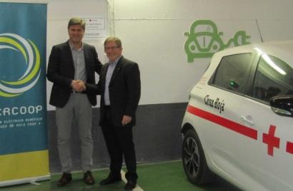 La cooperativa Enercoop colaborará con Cruz Roja en proyectos de autoconsumo y de lucha contra la pobreza energética