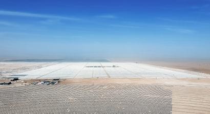 Abengoa avanza en la construcción del complejo solar más grande del mundo en Dubai