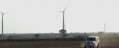 Acciona conecta su cuarto parque eólico indio
