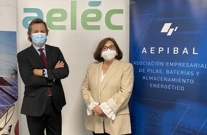 Aelēc y Aepibal se alían en la defensa y promoción del almacenamiento eléctrico