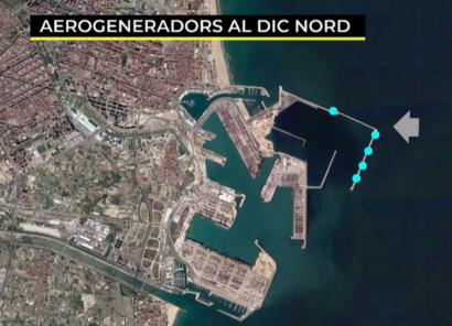 Sale a licitación el anteproyecto para instalar eólica en el Puerto de Valencia