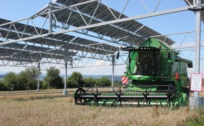 En el mundo ya hay instalados 2,9 GW en agrovoltaica