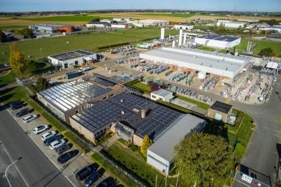 Air Products apuesta por el autoconsumo solar en su Centro de Excelencia de Bélgica