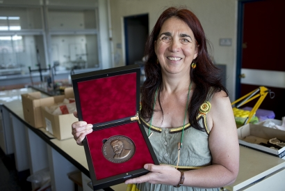 Ana María Alonso Zarza, nueva directora del Instituto Geológico y Minero de España