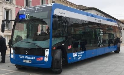 Alstom pone en el mercado un autobús eléctrico a coste de diésel