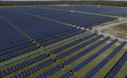 Amazon creará un parque solar fotovoltaico de cincuenta megavatios en Zaragoza