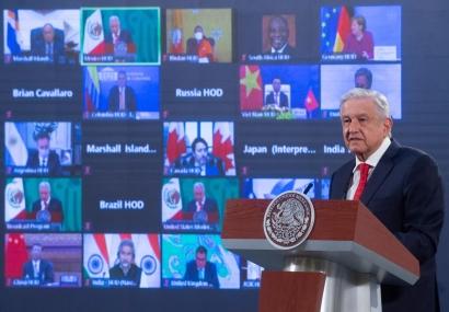 """El presidente de México aprovecha la Cumbre del Clima para anunciar el descubrimiento de """"tres grandes yacimientos de hidrocarburos"""""""