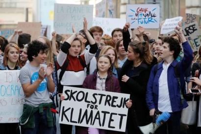 Greta Thunberg y Viernes para el Futuro reciben el máximo galardón de Amnistía Internacional