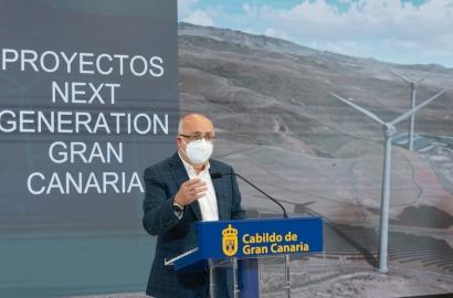 Gran Canaria aspira a ingresar 1.285 millones de fondos europeos para desarrollar 473 proyectos para la transición energética