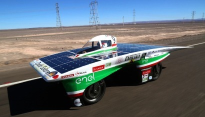 Concluye la primera etapa de la Carrera Solar Atacama 2016