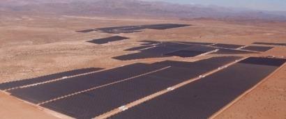 Acciona conecta en Chile la mayor instalación fotovoltaica de Latinoamérica
