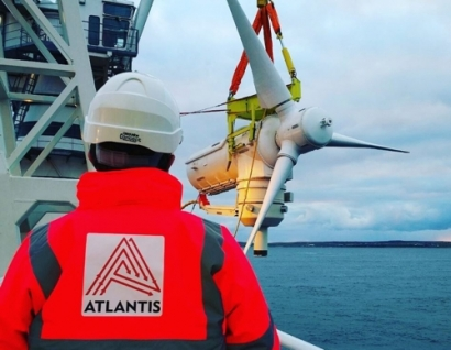 Atlantis and GE to Build World's Largest Tidal Turbine
