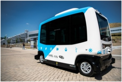 Autonomous Vehicle Shuttle Launched at NREL's Colorado Campus