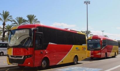 Baleares, una flota de autobuses demasiado gaseosa