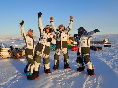 2.538 kms en 52 díaspor el corazón de la Antártida y solo impulsados por el viento