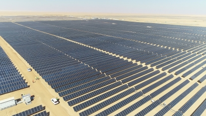 Continúa la puesta en marcha de los 1.800 megavatios fotovoltaicos del megacomplejo solar egipcio de Benban