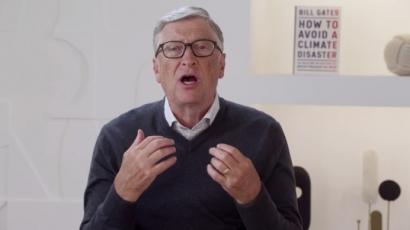 La UE se alía con Bill Gates para capturar CO2 directamente del aire