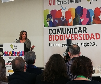 """Teresa Ribera: """"biodiversidad y cambio climático están claramente unidos"""""""