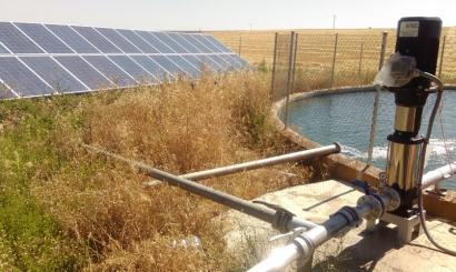 Extremadura subvenciona con más de 1.700.000 euros a tres comunidades de regantes para que implanten instalaciones de bombeo solar