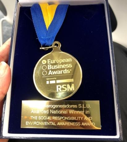 Bornay recibe el European Business Award entre más de 2.000 empresas candidatas