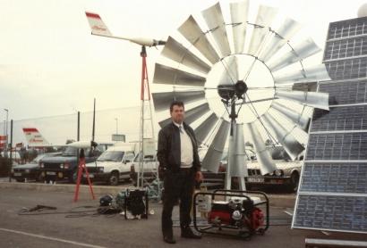 El mecánico que supo ver el viento