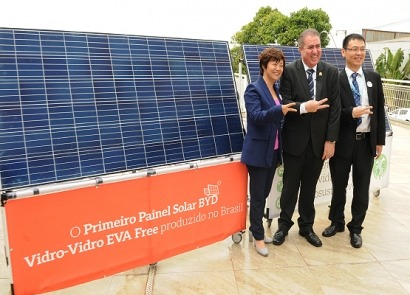 BRASIL: Comienza a funcionar en el estado de Sao Paulo una fábrica de paneles fotovoltaicos