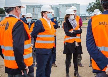 Guillermo Fernández Vara: Extremadura quiere ser la comunidad autónoma española número 1 en renovables en 2030