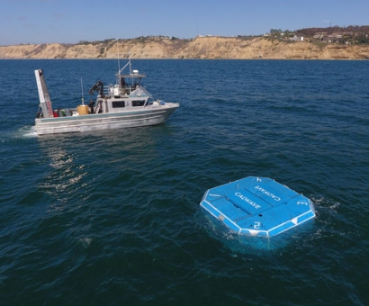 CalWave Successfully Commissioned Open-Water Wave Energy Pilot