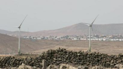 Naturgy inaugura un parque eólico en la isla canaria de Fuerteventura