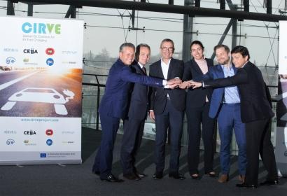 Una red de recarga rápida y sencilla para viajar a Europa en coche eléctrico