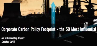 Un informe revela que muchas grandes corporaciones mundiales están torpedeando la política climática