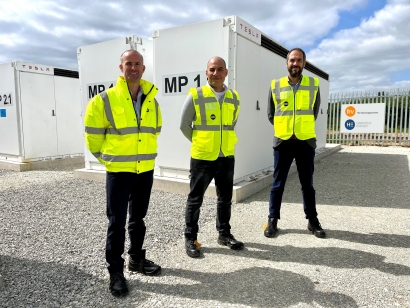 Arranca el mayor proyecto de almacenamiento en baterías del Reino Unido