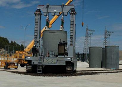 68 contenedores para almacenar los residuos radiactivos de Almaraz, Trillo y Garoña