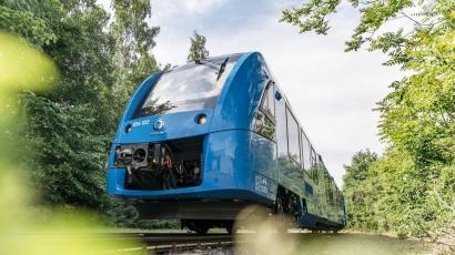 El primer tren de hidrógeno del mundo ya está en marcha