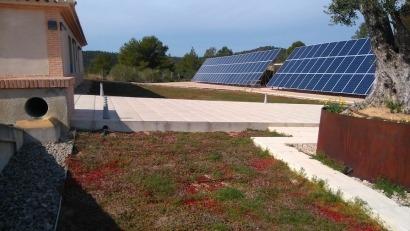 Un jardín en el tejado que mantiene la temperatura de un edificio a 21ºC durante todo el año