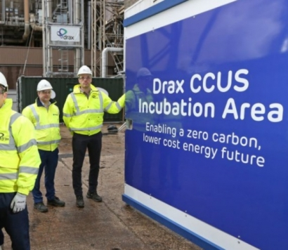 Carbon Dioxide Being Captured in Innovative BECCS Pilot