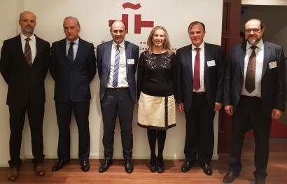 El Gobierno de Barkos reúne a 23 empresas navarras en el marco de WindEurope Hamburgo