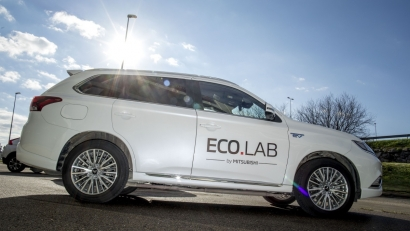 Mitsubishi lleva a Madrid su EcoLab para resolver dudas relacionadas con la movilidad sostenible