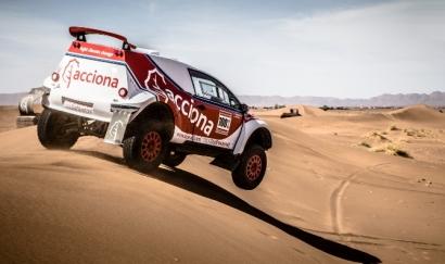 Acciona regresa al rally extremo con su vehículo EcoPowered cien por cien eléctrico