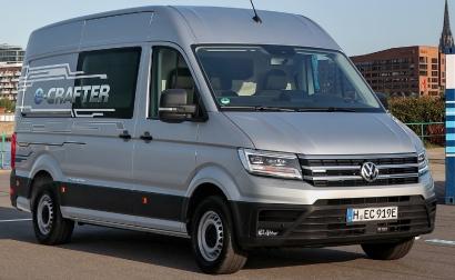 Volkswagen emprende con su furgoneta e-Crafter la ruta de la electrificación de su gama de vehículos comerciales