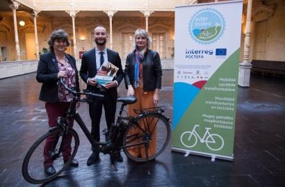Navarra se adhiere a la Red Europea de Ciudades y Regiones Ciclistas